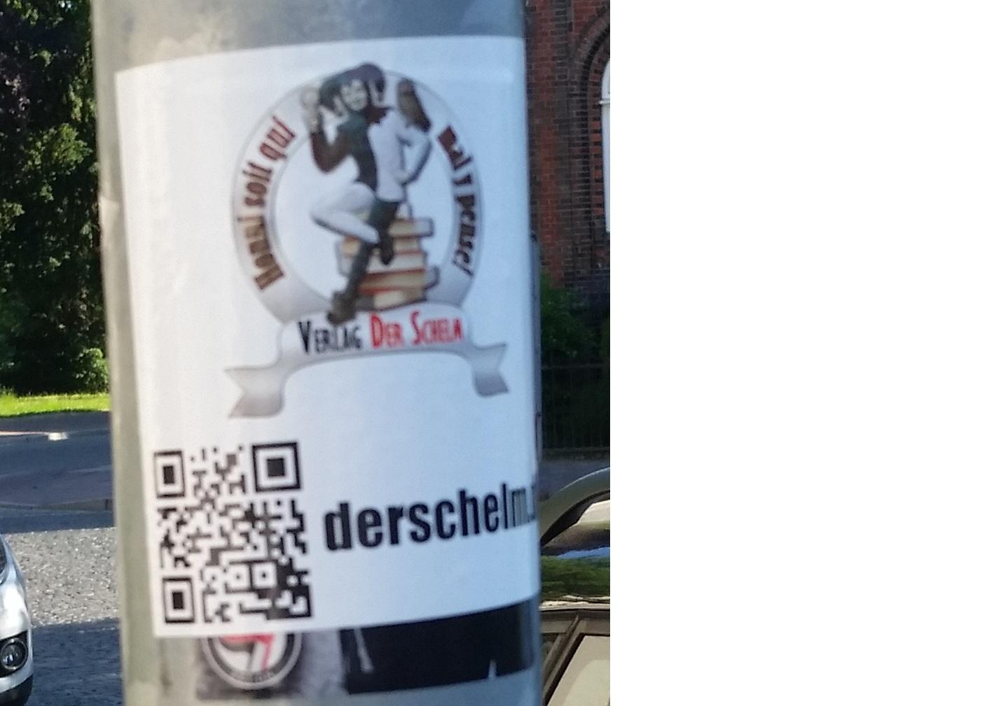 Schelm Verlag Aufkleber