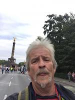 Peter Pinkall am 0.08.2020 auf der Querdenken Demonstration in Berlin